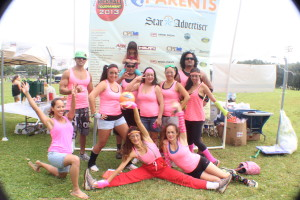Costume Contest Winners - The Hot Kicks