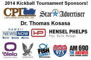 2014 Kickball Tournament Sponsors