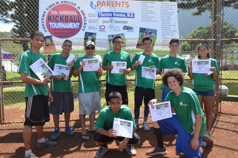 3rd Place Winners - Ohana Health Plan