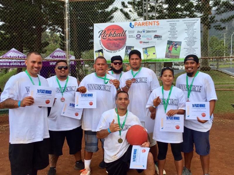 1st Place Winners - Winner's Circle