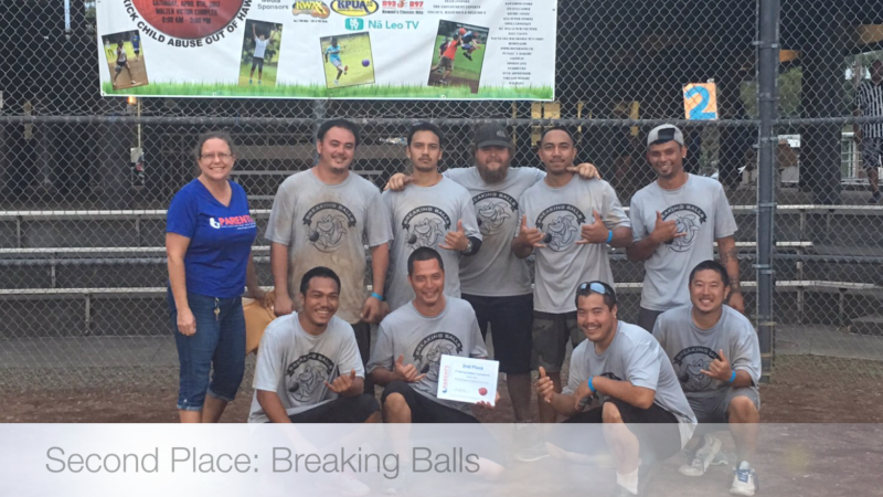 2nd Place Hilo - Breaking Balls