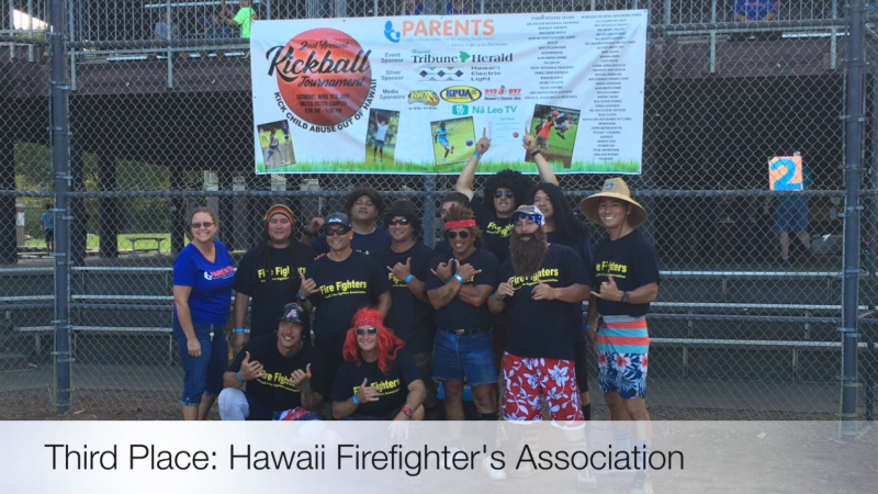 3rd Place Hilo - Hawaii Firefighter's Association