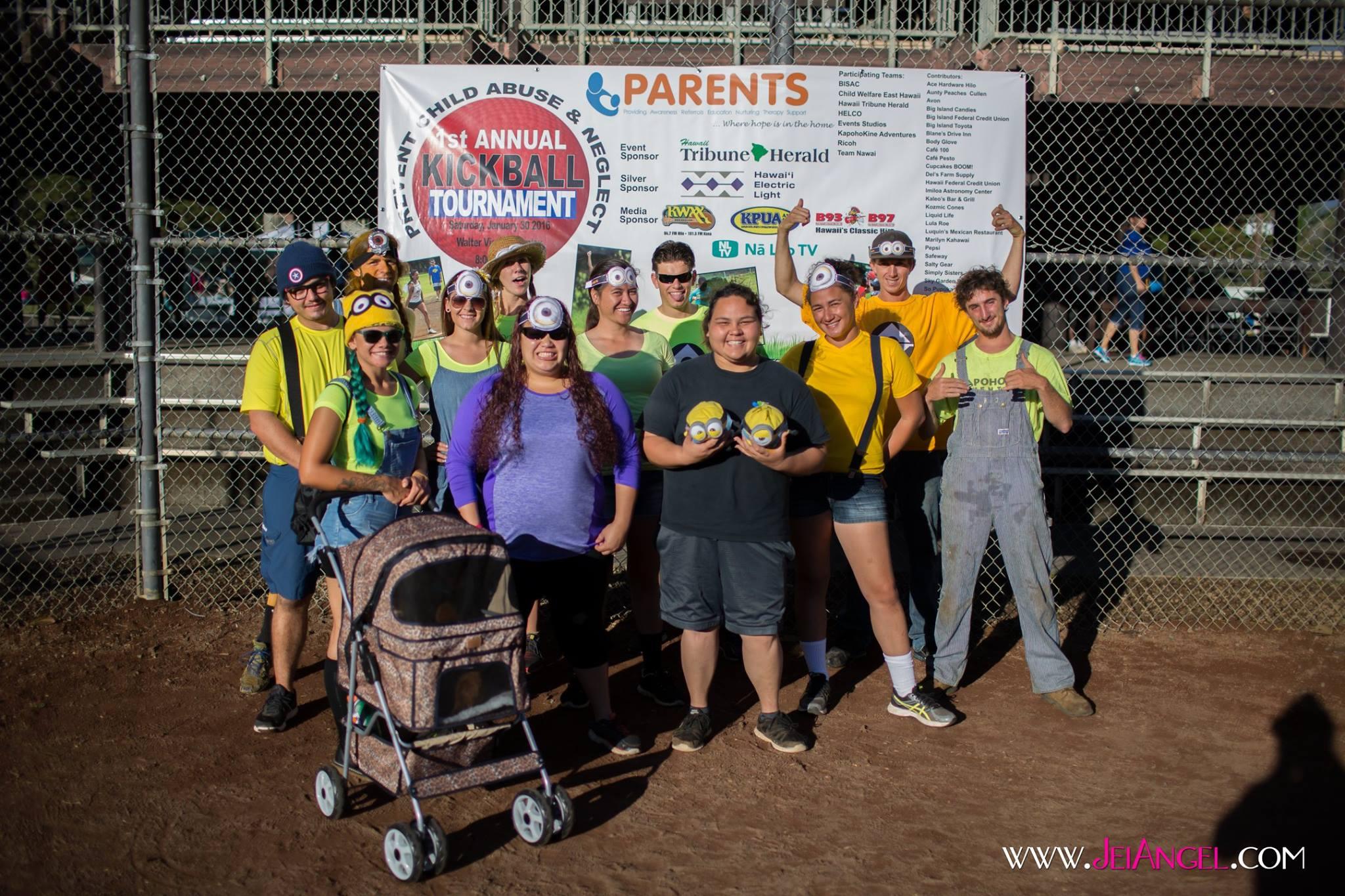 2016 Hilo Kickball Tournament | Hawaii PARENTS, Inc
